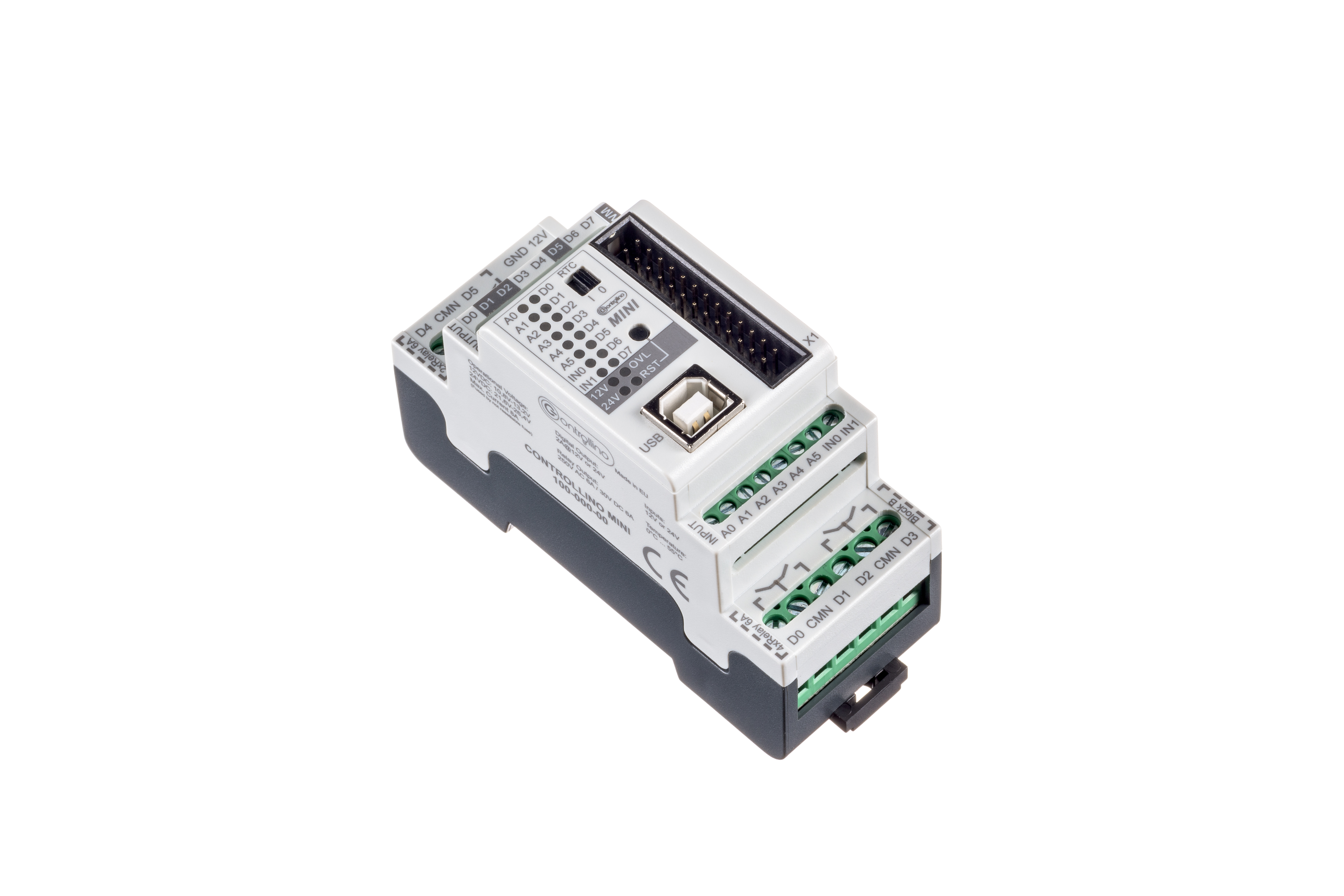 Learning Controllino Ac Series Circuit Further Control And Data Acquisition Interface Mini
