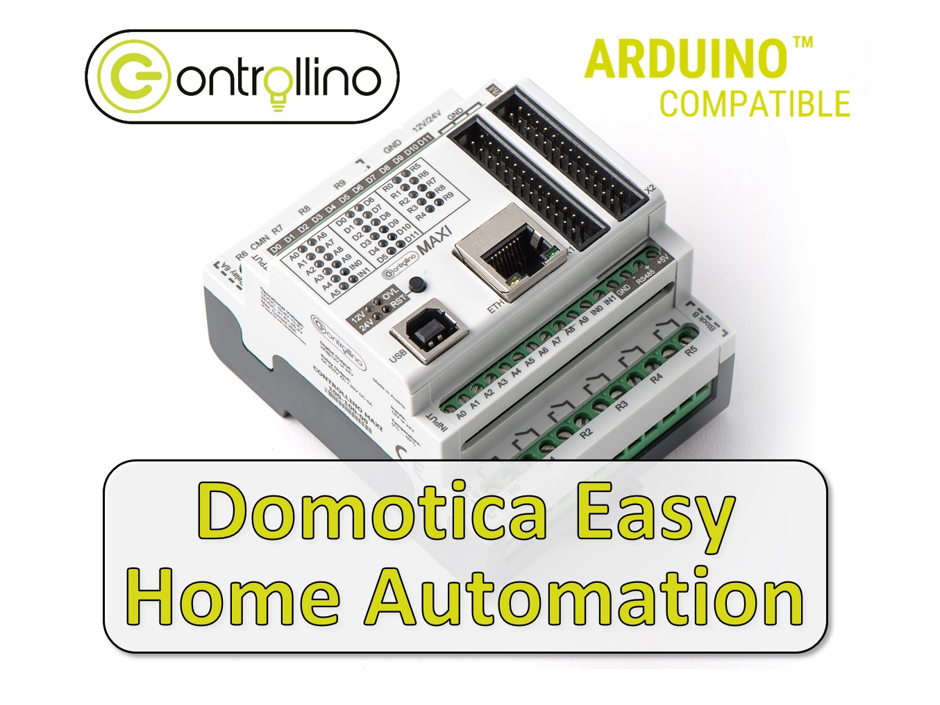 Domotica Easy Home Automation by Mirko Iaci - powered by CONTROLLINO