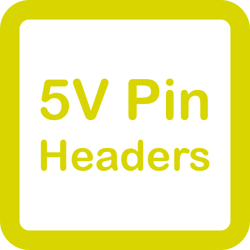 5V Pin Headers